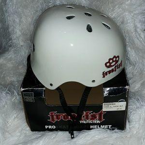 Iron Fist Pro Skateboard Helmet